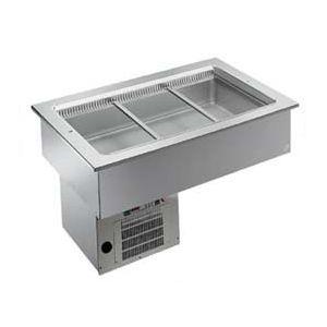 Ванна холодильная, встраив., 3GN1/1, +2/+7С, кромка, агрегат, стат.охл.