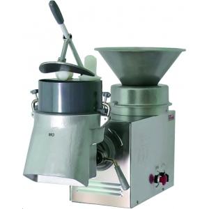 Машина универсальная кухонная настольная: насадка (овощерезка-протирка МО), привод ПМ, нерж.сталь