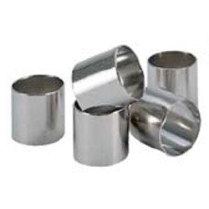 Трубка (форма) D 4см, L 4см ПРОБКА ШАМПАНСКОГО, нерж.сталь