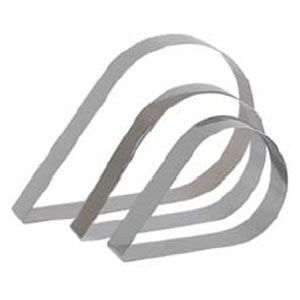 Кольцо (форма) СЛЕЗА L 23см w 14,5см h 4см, нерж.сталь
