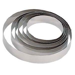 Кольцо (форма) КРУГ D 28см h 6см, нерж.сталь