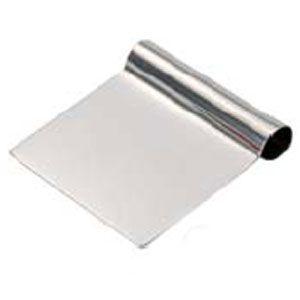 Скребок L 12см w 12см квадратный, нерж.сталь