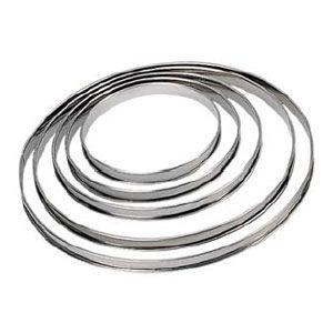 Кольцо для торта (ограничитель) D 12см h 2см, нерж.сталь