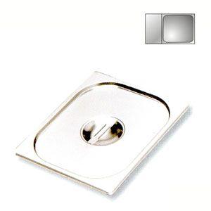 Крышка для гастроемкости GN2/3, нерж.сталь