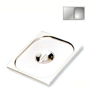 Крышка для гастроемкости GN1/2, нерж.сталь