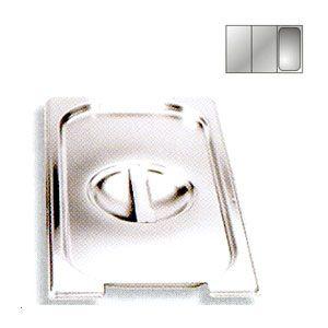 Крышка для гастроемкости GN1/3 вырез под ручки, нерж.сталь