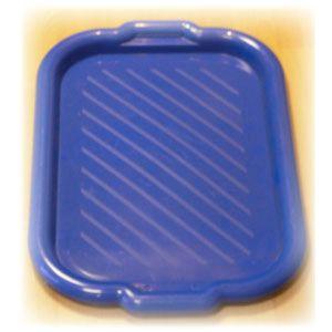 Поднос L 49см w 35см прямоугольный, пластик (синий)