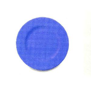 Тарелка мелкая D 26см ARYA, голубой