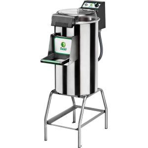 Картофелечистка электрическая, напольная, загрузка 18кг, 220кг/ч, корпус нерж.сталь, 380V