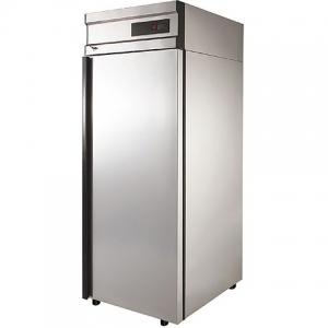 Шкаф морозильный, GN2/1,  700л, 1 дверь глухая, 4 полки, ножки, -18С, дин.охл., нерж.сталь