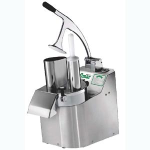 Овощерезка электрическая для овощей и фруктов, настольная, без дисков, 1 скорость, нерж.сталь, 220V