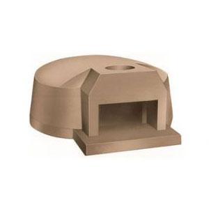 Печь дровяная, 1 камера, под 1.33м2 камень сегментированный, термометр, купол камень, дверь сталь