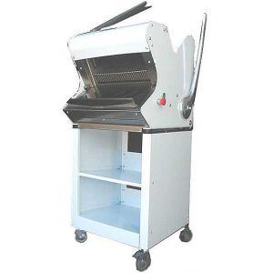 Хлеборезка, полуавтомат, загрузка хлеба 400мм, полузакр.стенд на колесах, зазор 9мм