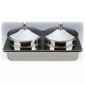 Емкость для чафера CEHWA810 - вставка-супница (2 емкости с крышками)