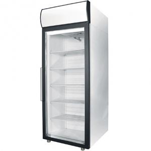 Шкаф холодильный для икры,  700л, 1 дверь стекло, 4 полки, ножки, -8/0С, дин.охл., белый, канапе