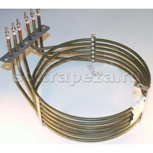 ТЭН 6000W 230V для печей A04/05/08/10, ACE05, APE04, AVE05