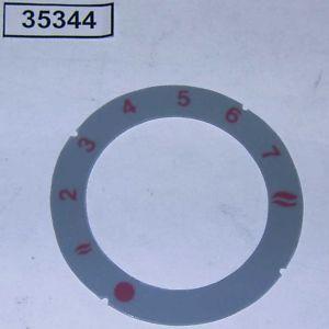 Кольцо информационное для ручки газ