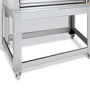 Подставка для печи для пиццы подовой Citizen 6+6/MC, 1370х910х940мм, открытая, обвязка с 4-х сторон, нерж.сталь