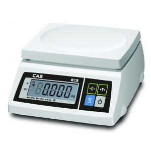 Весы электронные порционные, настольные, ПВ 0.02-2.00кг, платформа 239х190мм, подключение комбинированное, корпус пластик, 2 ЖК-дисплея