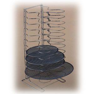 Подставка для противеней (на 12шт) h 70см вертикальная, нерж.сталь
