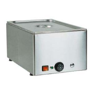 Мармит электрический, 1 ванна 1GN1/1, настольный, нерж.сталь, нагрев «парового» типа, сливной кран