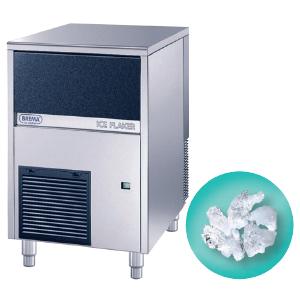 Льдогенератор для гранулированного льда,   90кг/сут, бункер 20.0кг, возд.охлаждение, корпус нерж.сталь