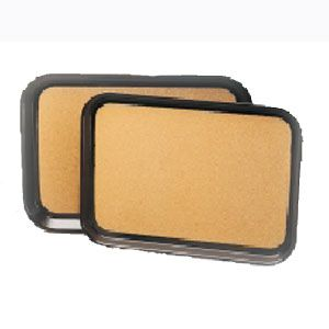 Поднос L 55,9см w 40,6см прямоугольный, пластик с пробк. покрытием