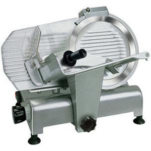 Слайсер электрический, D ножа 300мм, корпус алюминий, устройство заточное фиксированное
