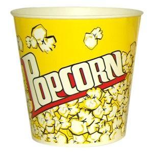 V170 «Желтый», стакан бумажный для попкорна