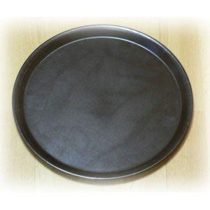 Поднос D 27,9см, пластик (коричневый)