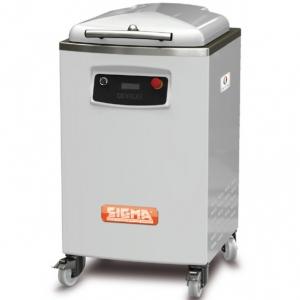 Тестоделитель автоматический напольный, загрузка 16кг, 20 порций (150-800г), белый, колеса