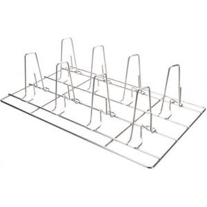 Решетка для куры-гриль для пароконвектомата, 325х530мм, нерж.сталь, 8 крюков