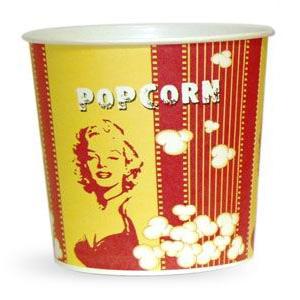 V 85 «Монро», cтакан бумажный для попкорна