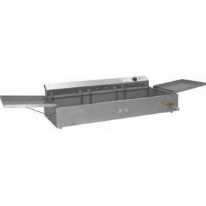 Фритюрница электрическая для чебуреков, 1 ванна 18л, настольная, нерж.сталь, 3 вкладыша перфорированых, 2 крышки-полки