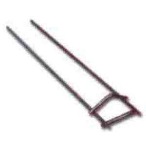 Шампур двухспицевый для мелкопорционных продуктов, для гриля для кур карусельного МК-21М, комплект 6шт., расстояние между спицами 64,5мм