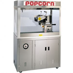 Попкорн аппарат, 36oz, Enclosed Cornado