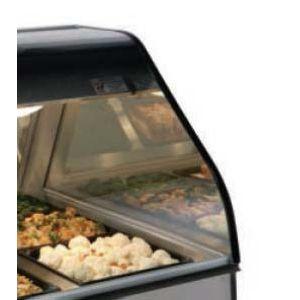 Стекло боковое бронзовое для тепловых витрин