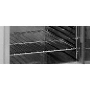 Полка стальная для тепловых шкафов с боковыми рамками