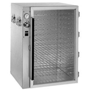 Витрина тепловая настольная, вертикальная, для пиццы, L0.52м, 13 полок-решеток, +16/+93С, алюминий, 1 дверь стекло