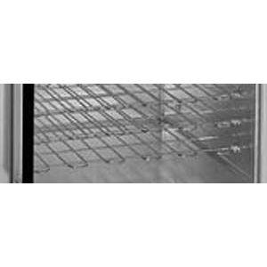 Полка-решетка хромированная для тепловой витрины