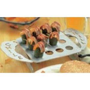 Подставка для перца халапеньо для печи-коптильни, сталь, вместимость 12шт.