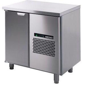 Стол морозильный, GN1/1, L0.86м, без борта, 1 дверь глухая, ножки, -15/-25С, нерж.сталь, дин.охл., агрегат справа