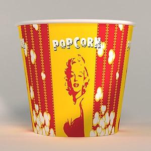 V170 «Монро»,  стакан бумажный для попкорна