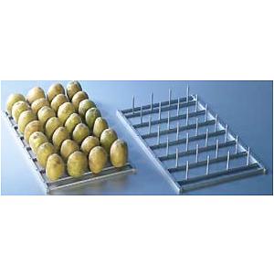 Решетка для печеного картофеля для пароконвектомата, 325х530мм, 28 штырей