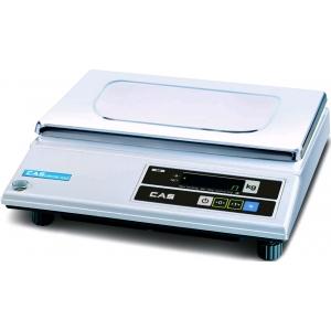 Весы электронные порционные, настольные, ПВ 0.04-20.0кг, платформа 340х215мм, подключение от сети, корпус пластик, интерфейс RS-232С
