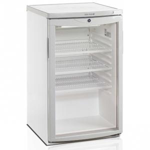 Шкаф холодильный д/напитков (минибар), 109л, 1 дверь стекло, 3 полки, ножки, +2/+10С, стат.охл., белый
