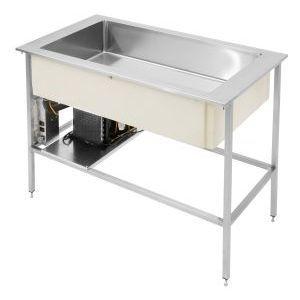 Ванна холодильная, встраив., 3GN1/1-210, б/устан.каркаса