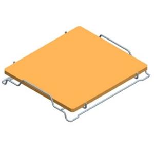 Камень для пиццы для печи микроволновой DS1400E, подставка