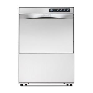 Машина посудомоечная фронтальная, 500х500мм, 30-20кор/ч, гор.вода, доз.опол.+моющ., D тарелки 345мм, 2 цикла, сливная помпа
