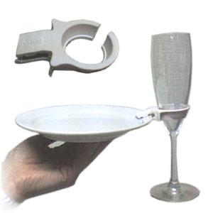 Клипса для тарелок, пластик